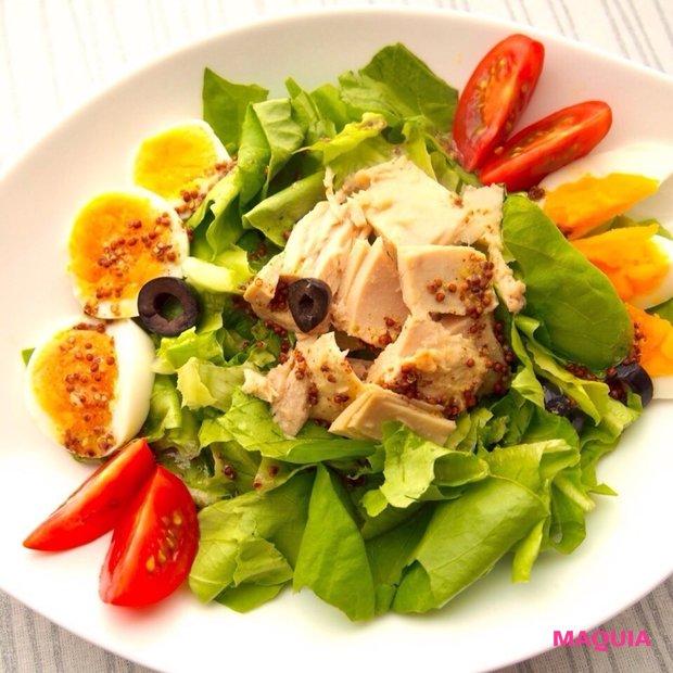 美味しい「ツナ缶レシピ」2品★地中海風サラダ&スパニッシュオムレツはワインとご一緒に!