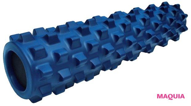 指圧&引き剥がし効果でこわばった筋肉や筋膜をリリース。ランブルローラー ミドルサイズ・スタンダードフォーム ¥7700/セルフボディケア・ジャパン