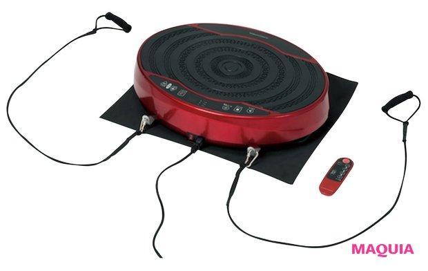 振動が身体を刺激。本体に乗るだけで体幹・筋力トレーニングに。バランスウェーブ ミニ FAV4117R オープン価格/アルインコ