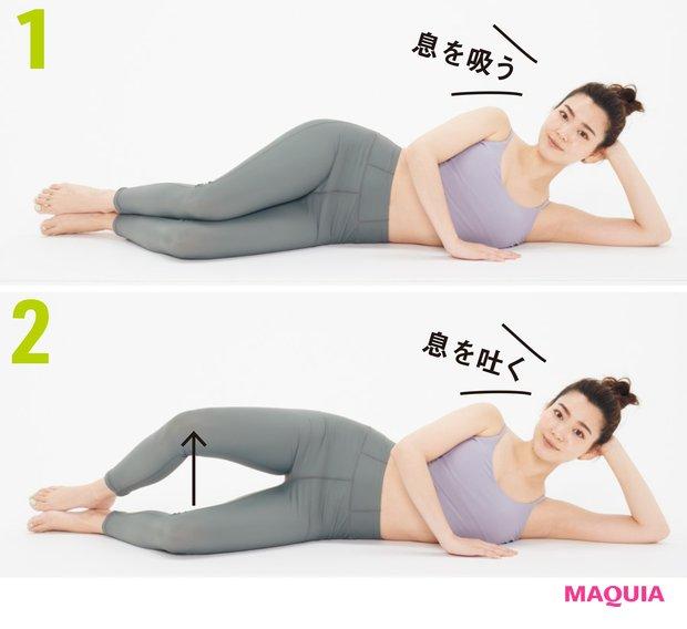 【美筋トレーニング5選】すっきり二の腕、美腹、上向きヒップに!_8