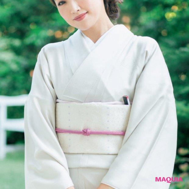 """神崎恵さんが提案!「特別な日の和装」に合うメイクは""""マット美肌×コンサバ"""""""