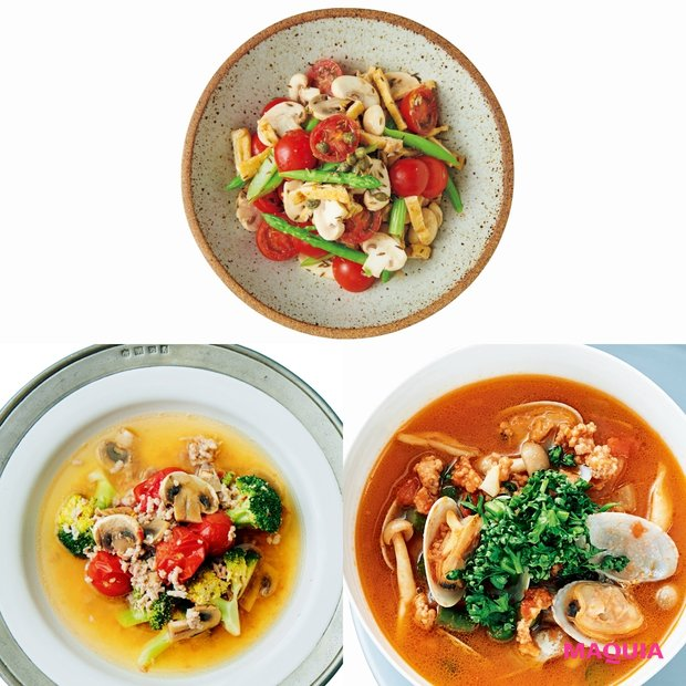 Atsushiさんの美に効くごはん! くすみ・シミに効く6つのトマトレシピ