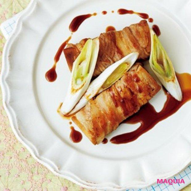 旬を満喫しながらおいしくダイエット! 高野豆腐の豚バラ巻き