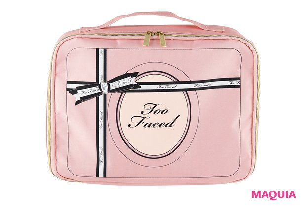 Too Faced × MAQUIA HAPPY♡PINKコスメポーチ