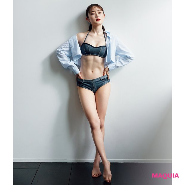 モデル椎名美月さんに聞く夏ボディの作り方。筋トレと食事で縦割れ腹筋に!_1