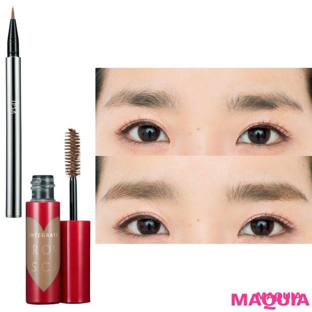 自然な眉づくりの秘訣はコレ! 太い、細いetc.…… 自眉を活かすメイクテク