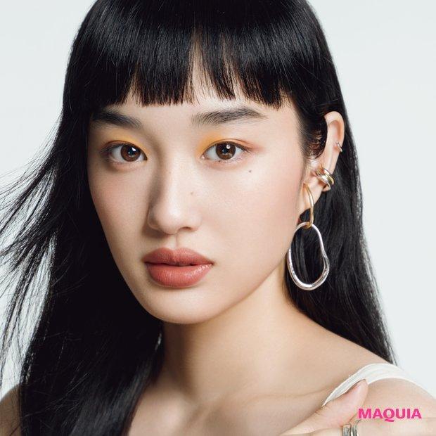 個の美しさを大切に! 中野明海さんが提案するオリエンタルメイクが新鮮