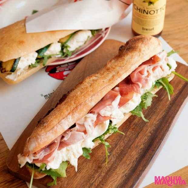 """ミルキーでとろけるようなチーズが主役!パリで人気のサンドウイッチ""""ンーモッツァ""""原宿店が日本上陸!"""
