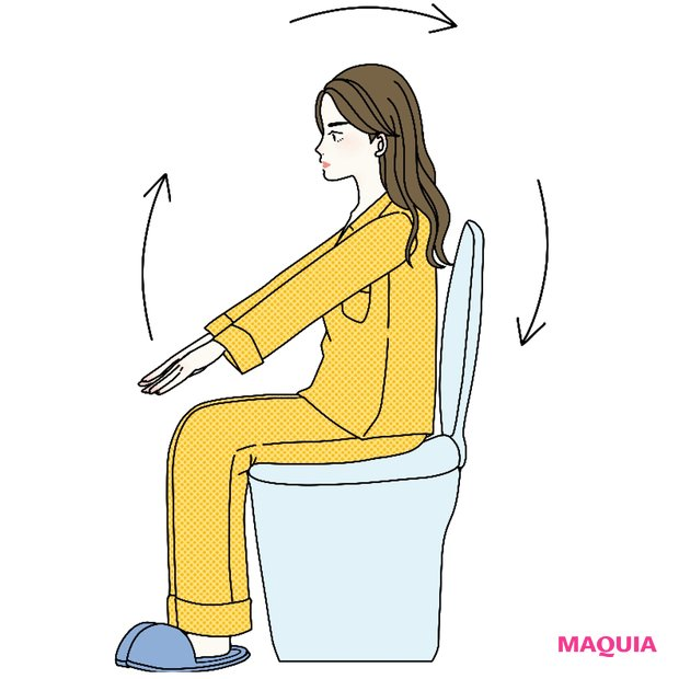 トイレの個室で