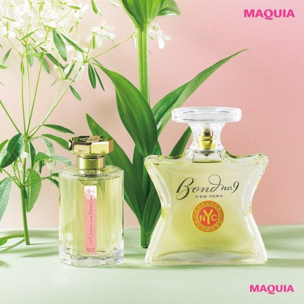 素敵な春はお花の香りが連れてくる! 幸運を引き寄せる香水アドバイス