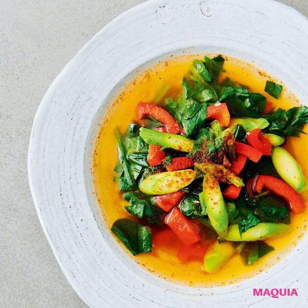 レンチンだけで作れる! Atsushiさんの美肌スープでキレイをチャージ