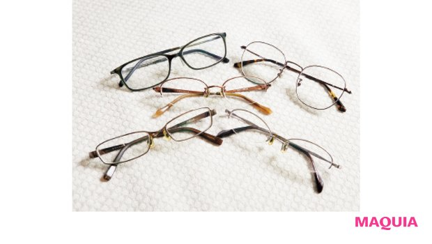 五味さんが持ち歩くメガネ