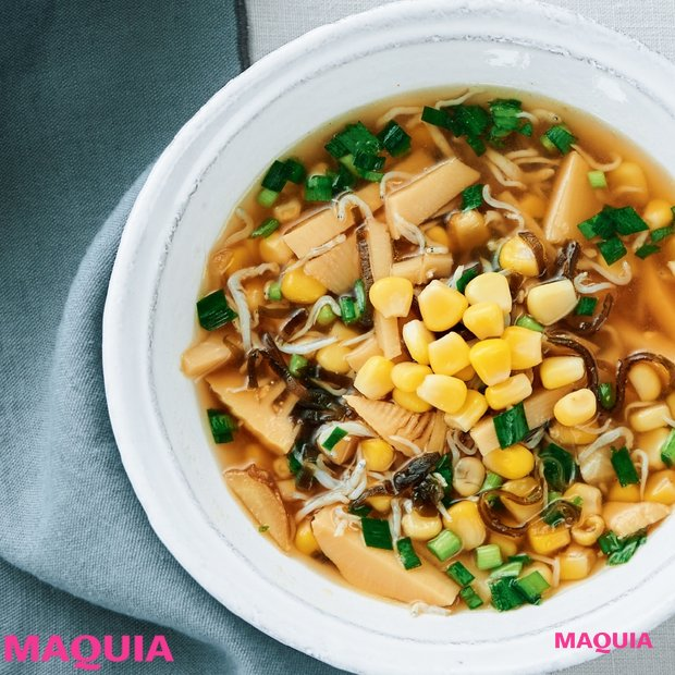 美味しく痩せる! コーン、ツナetc. 缶詰を使った美腸スープのレシピを大公開