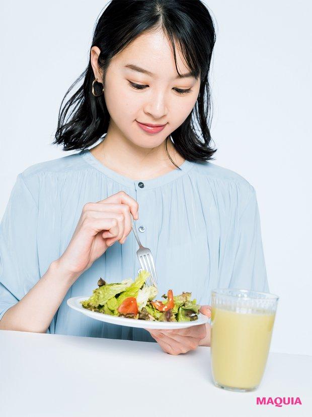 野菜大好きヘルシー女子は、時としてタンパク質不足に。