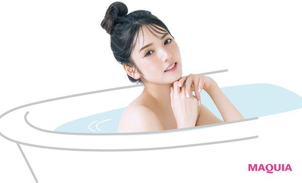 道重さゆみさんのお風呂美容に接近! サラ髪をキープする愛用アイテムはこれ_2