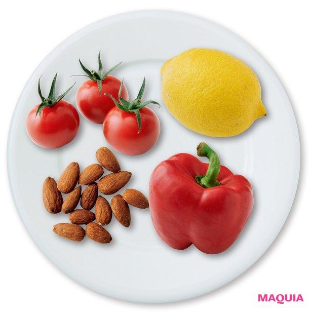 ビタミンA・C・E 「抗酸化作用が高く、 美肌&老化予防に必須」