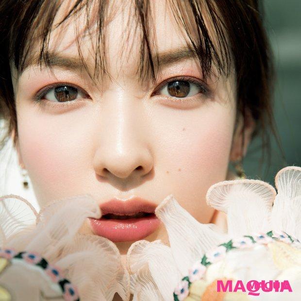 【犬木愛さん流・美貌メイク】上品さ漂うくすみピンクの春色ワントーン