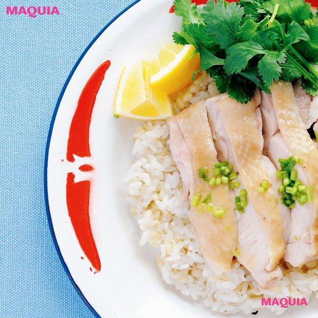 """ダイエット効果も期待できる!""""もち麦""""を使った海南鶏飯・サラダのレシピ"""