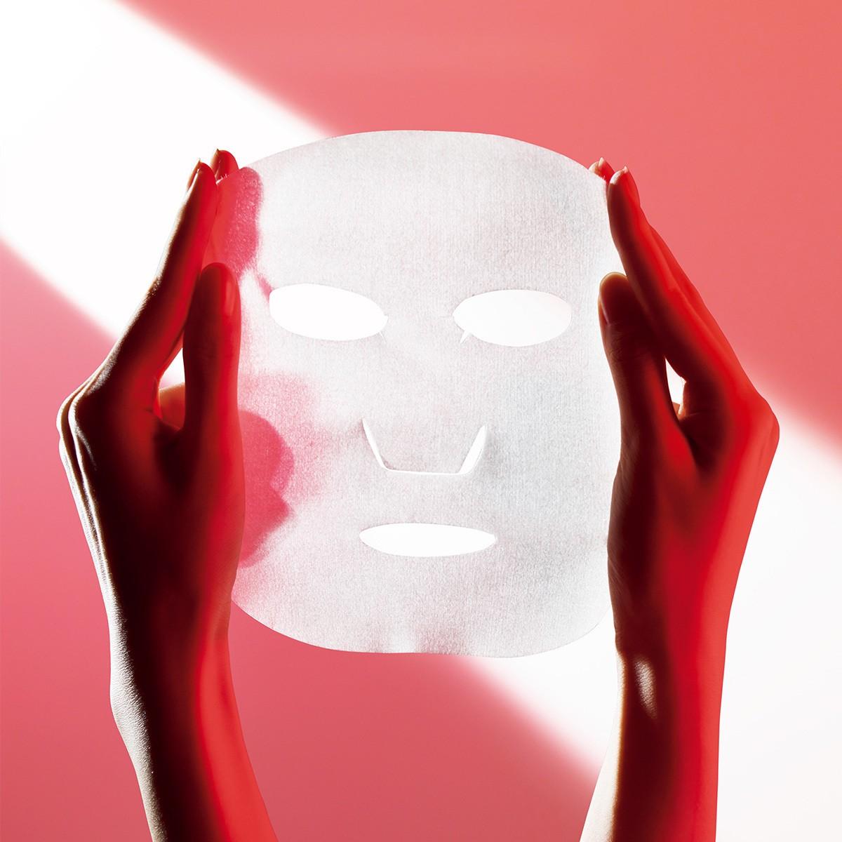 ディセンシアのフェイスマスクで、シワぐせに、週1回、5分(※1)の速攻集中ケア_1
