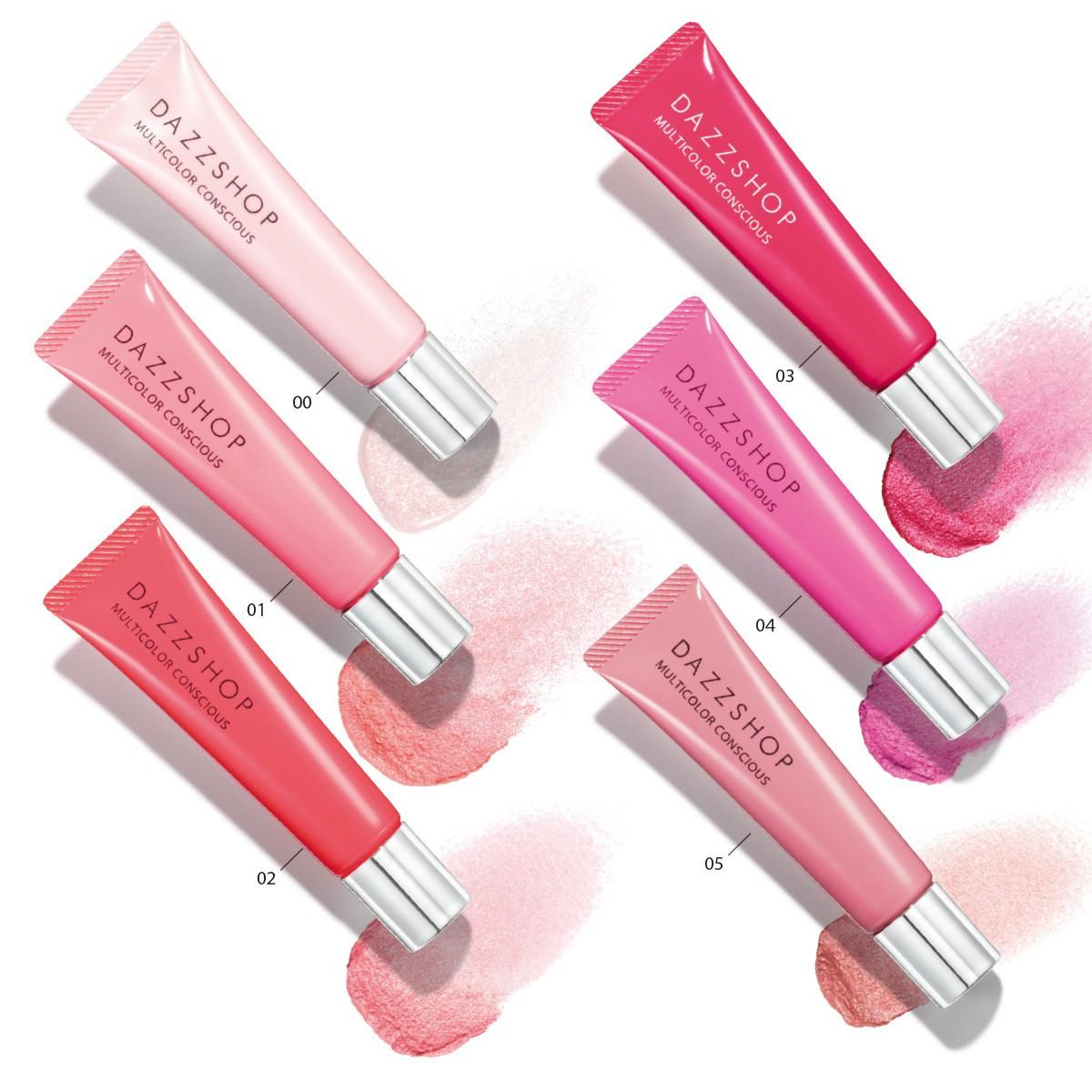 目、唇、頬…1色でも混ぜても、使い方無限大 DAZZSHOPのピンクが春を連れてくる! _1