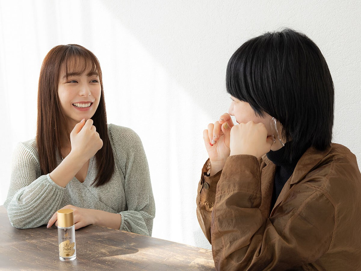 2021年は髪の紫外線ケアがトレンドに。宇垣美里さんも注目!うるツヤ髪が続く新感覚の#髪の日焼け止めオイル_2