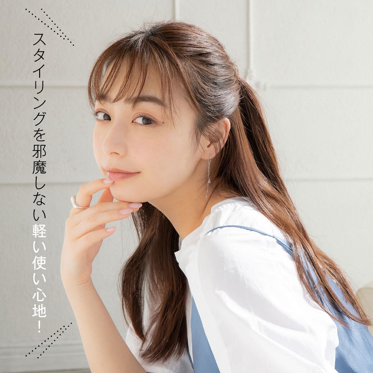 2021年は髪の紫外線ケアがトレンドに。宇垣美里さんも注目!うるツヤ髪が続く新感覚の#髪の日焼け止めオイル_8