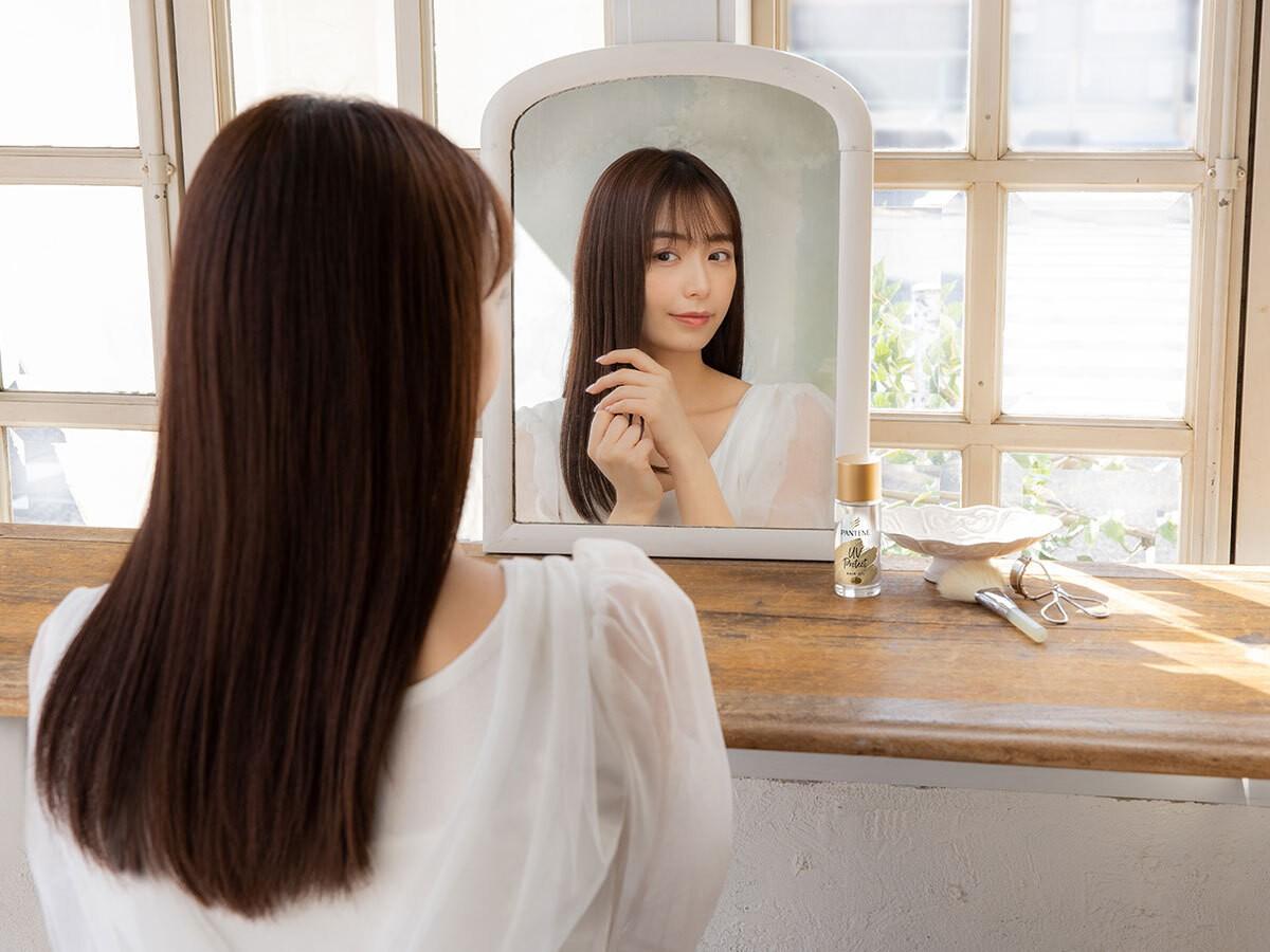 2021年は髪の紫外線ケアがトレンドに。宇垣美里さんも注目!うるツヤ髪が続く新感覚の#髪の日焼け止めオイル_3