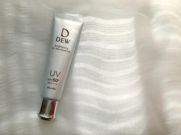 うるおって、透明感のある肌へ!DEWより新ブライトニングUV美容液が誕生!