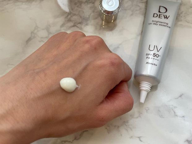 ズボラ必見。 日焼け止め効果だけではない!メラニンの生成を抑え、シミ 、ソバカスを防ぐブライトニングUV美容液。