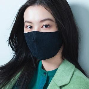【おすすめマスクメイク】黒マスク×カラーアイライナーでマスク美人に