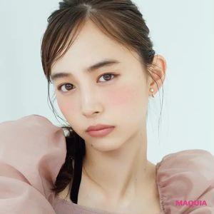 中野明海さんのピンクメイク! ワントーンで意思ある表情をまろやかに