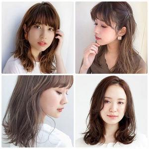 【2020年最新】セミロングの髪型・ヘアスタイル20選 - かわいいも大人っぽいも叶う! 前髪あり・なし別おすすめヘアまとめ